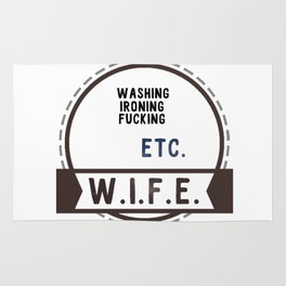 W.I.F.E. - wife, milf Rug