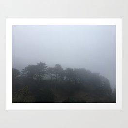 Fog in San Francisco Art Print