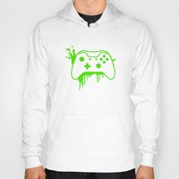 xbox Hoodies featuring Xbox One Controller by meganjamo