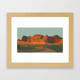 Capitol Reef National Park Framed Art Print