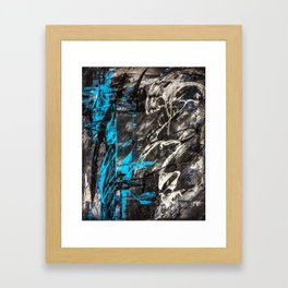 Areus, an abstract Framed Art Print