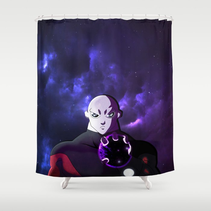 Jirens Crushed Planet Shower Curtain