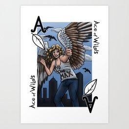 Ace of Wilds Art Print
