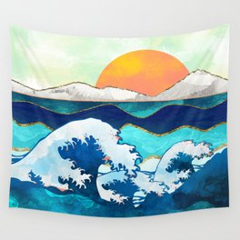 Stormy Waters Wall Tapestry