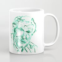 carl sagan Mugs featuring Carl Jung by echoes