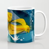 little mermaid Mugs featuring little mermaid by genie espinosa