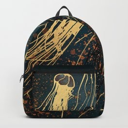 Metallic Jellyfish Backpack