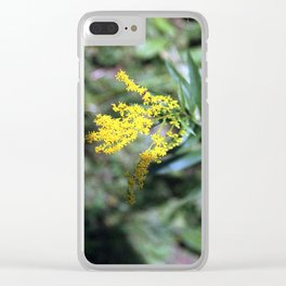 Goldenrod Clear iPhone Case