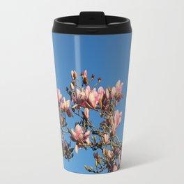 Magnolias Discovered Travel Mug