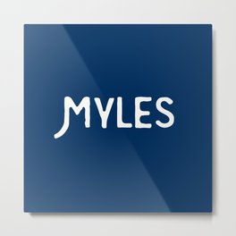 Myles Metal Print