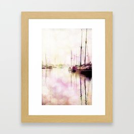Northern Harbor IV Framed Art Print