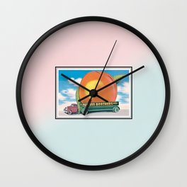 Eat a Peach by The Allman Brothers Band Wall Clock