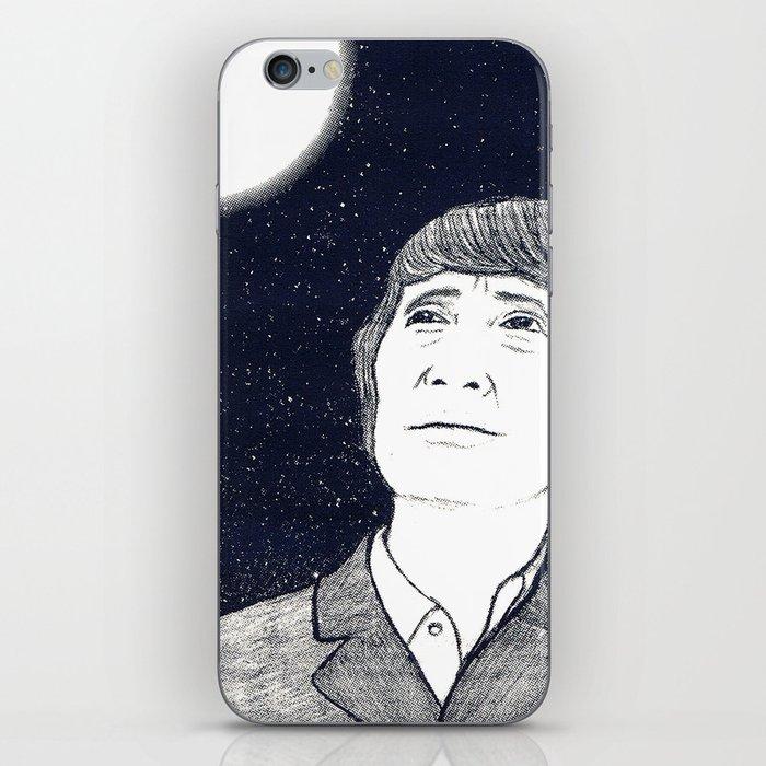 Man and Moon iPhone Skin