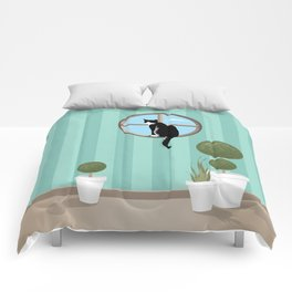 Outside / Inside Comforters