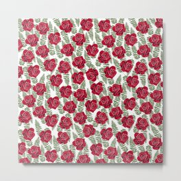 Roses are for lovers Metal Print