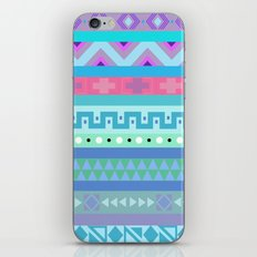 Calm Colored Tribal Print iPhone Skin