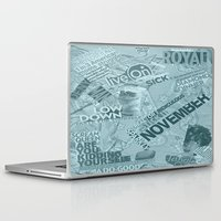college Laptop & iPad Skins featuring college  by MadCat