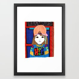 Hip Hop Framed Art Print