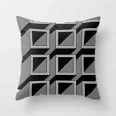 Extrube Throw Pillow
