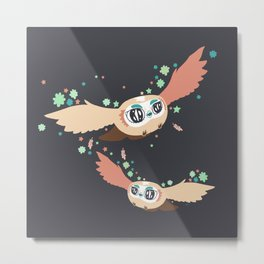 Flying with me Metal Print