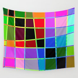 Color Blocks 3 Wall Tapestry