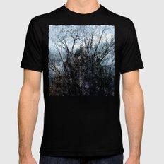 Winter thing Mens Fitted Tee Black MEDIUM