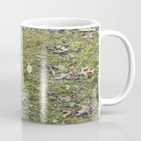 moss Mugs featuring Moss by M. Elizabeth