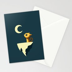 Moon Cat Stationery Cards