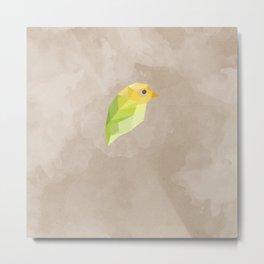 Green Canary Metal Print
