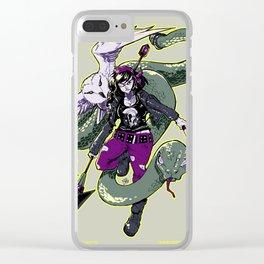 Rockabilly Athena Clear iPhone Case
