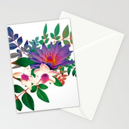 Lilies in summer Stationery Cards