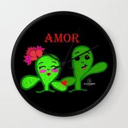 Amor Wall Clock