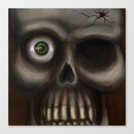Creepy Canvas Print