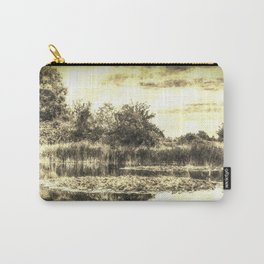 Lilly Pond Vintage Carry-All Pouch