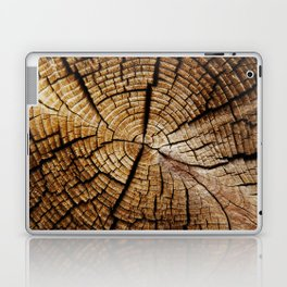 Ol' and weathered log Laptop & iPad Skin