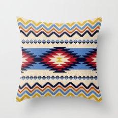Aztec pattern Throw Pillow