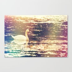Dreamy Swan Canvas Print