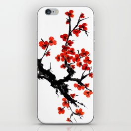 Orange Blossoms iPhone Skin