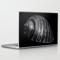 seashell Laptop & iPad Skins featuring Seashell by Anne Seltmann