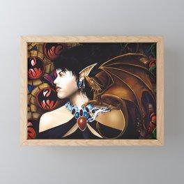 Whispered Secrets Framed Mini Art Print