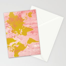 COME WITH ME AROUND THE WORLD Stationery Cards