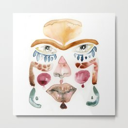 Mask I Metal Print