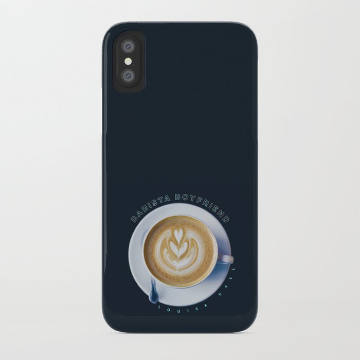 Barista Boyfriend iPhone Case