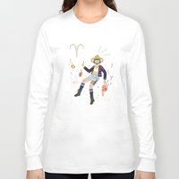 aries Long Sleeve T-shirts featuring Aries by LordofMasks