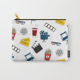 Cinema movie pattern Carry-All Pouch