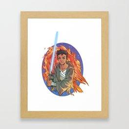 The Last Padawan Framed Art Print