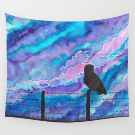 Galaxy Owl Wall Tapestry
