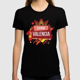 Valencia Spain design I Viva ESPANA Ciutat de les Arts Gift T-shirt
