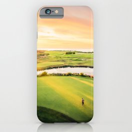 Golfing at the 'Gong iPhone Case