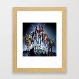 Transformers Prime Framed Art Print